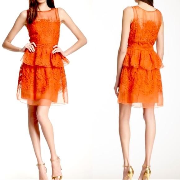 Yoana Baraschi Dresses & Skirts - Yoana Baraschi Arabesque Embroidered Silk Dress